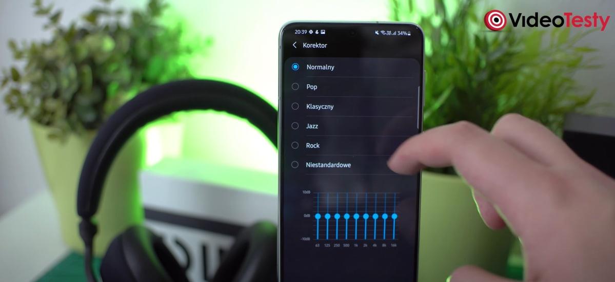Korektor Samsunga jest w zupełności wystarczający