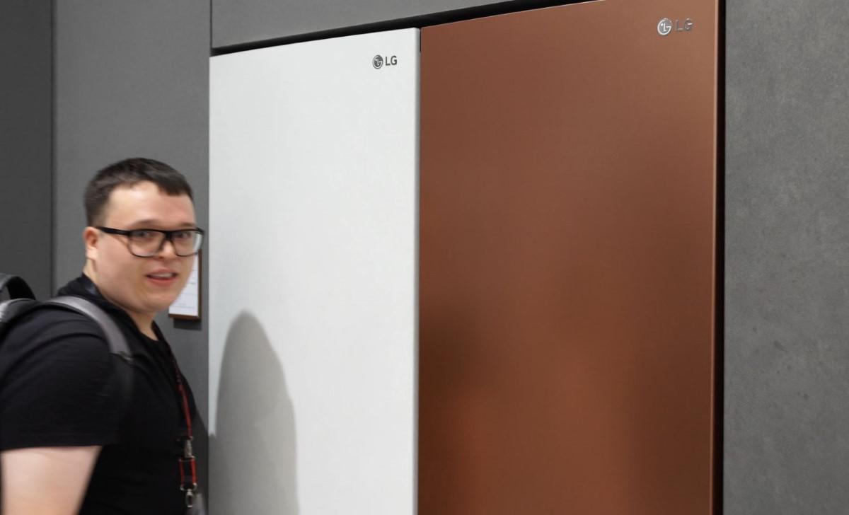 LG lodówka Centum System IFA 2019