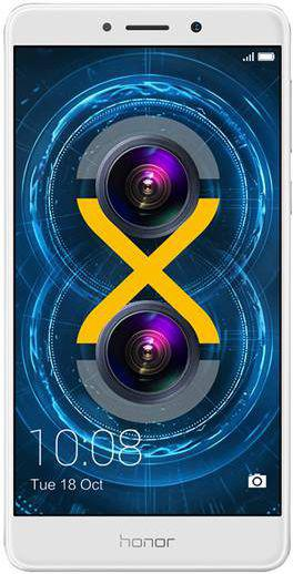 HONOR Honor 6X 32GB Srebrny (51091ACK)