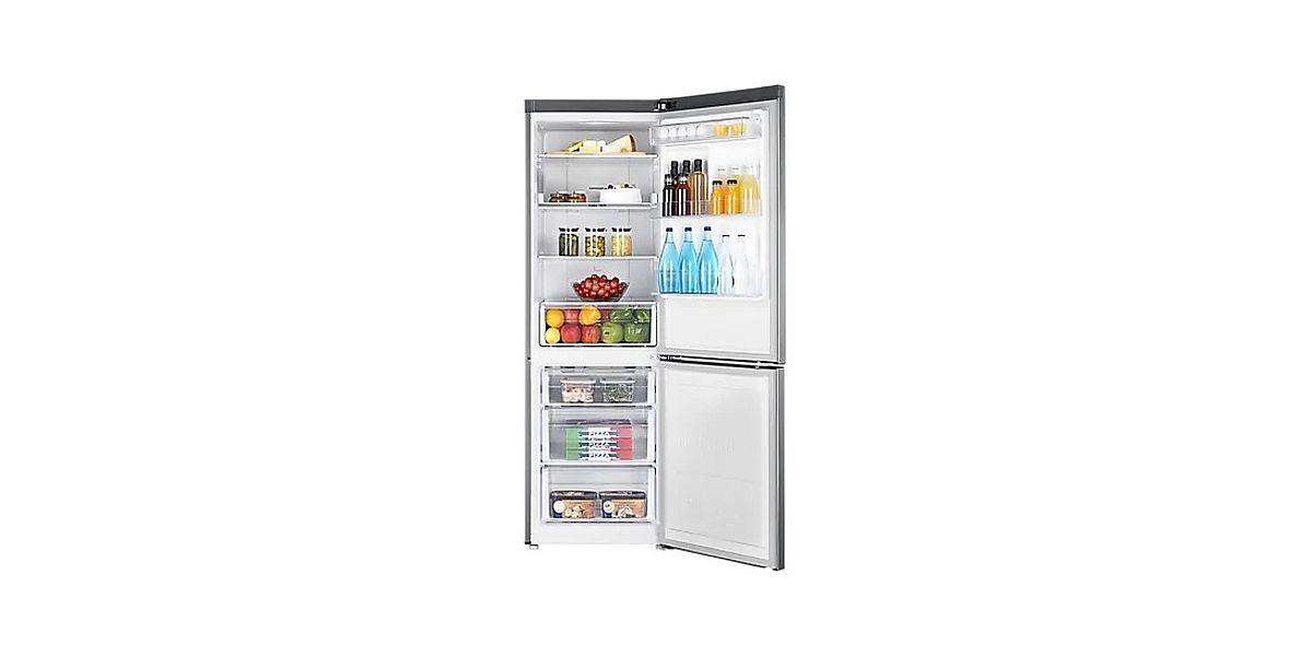 wnętrze lodówki marki Samsung