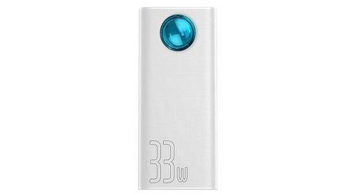 Baseus PPLG-02 Powerbank Amblight 30000 mAh Biały