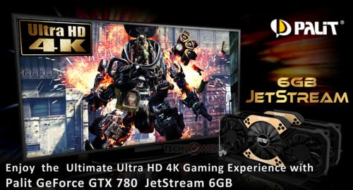 Palit GeForce GTX780 JetStream 6GB