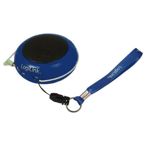 LogiLink Przenośny do Mp3/telefonu - niebieski
