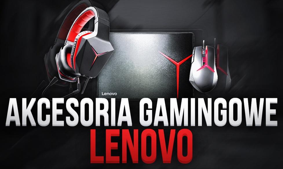 Prezentacja Myszki i Słuchawek dla Gracza od LENOVO