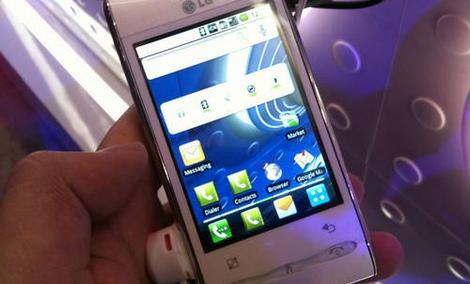 Już jest pierwszy w Polsce test LG Swift GT540