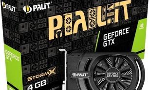 Palit GTX 1650 StormX, 4GB GDDR5 (NE51650006G1-1170F)