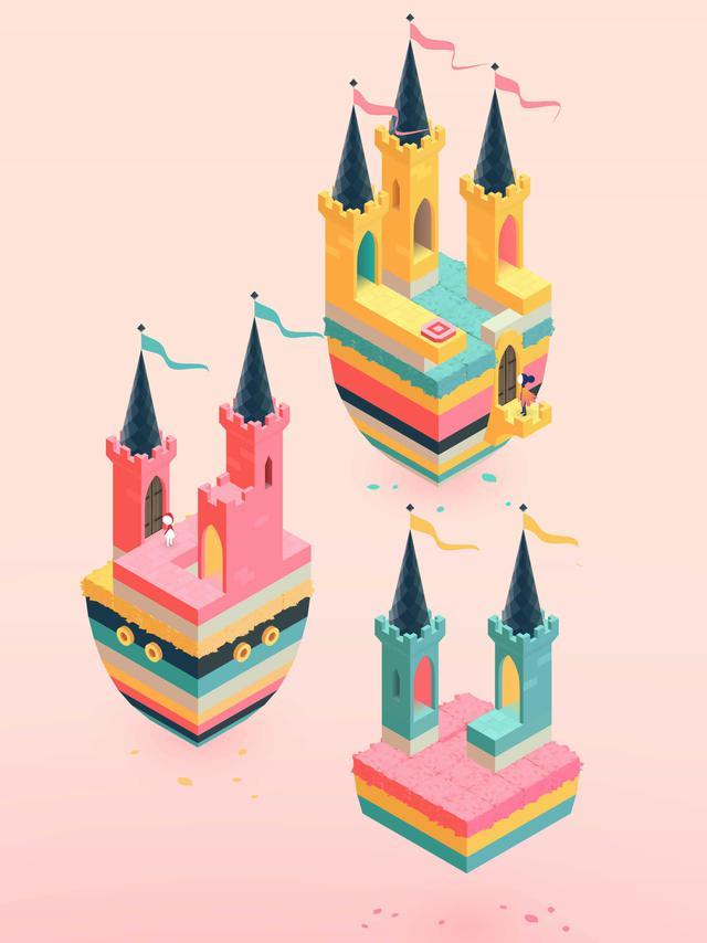 Monument Valley 2 - Unoszące się zamki