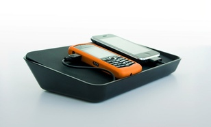 Bluelounge Refresh stacja dokująca (microUSB, miniUSB, USB, 30-PIN) czarna