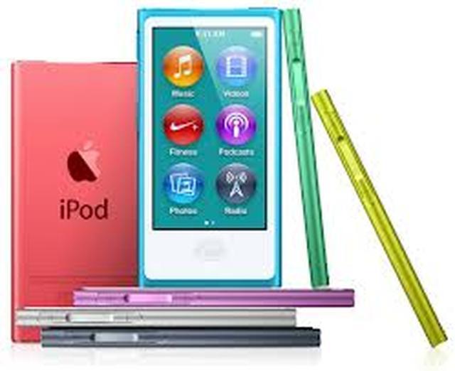 Apple iPod Nano 7G - popularny odtwarzacz wysokiej jakości