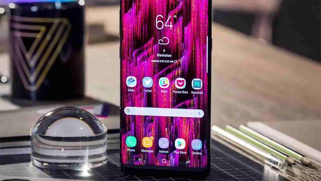 Samsung Galaxy Note9 - Pierwsza grafika w sieci!