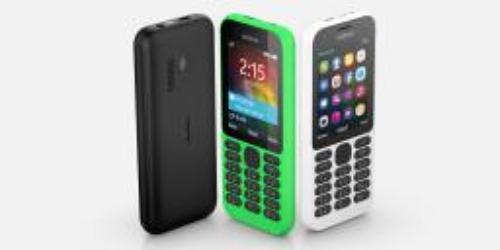 Nokia 215 Dual Sim Zielony (Nokia 215 Green Dual Sim)