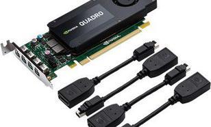 PNY Technologies Quadro K1200 4GB GDDR5 (128 Bit) 4x mDP (VCQK1200DPWE-PB)