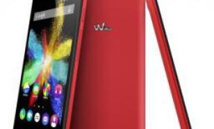 Wiko Rainbow Lite LTE Czerwony