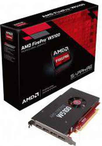 Sapphire FirePro W5100 4GB GDDR5 (128 bit) 4x DisplayPort BOX (100-505974)