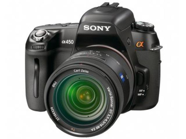 Sony A450 – jedno ładowanie baterii na 1000 zdjęć