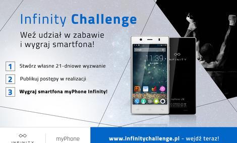 Wykaż Się i Wygraj w myPhone INFINITY Challenge