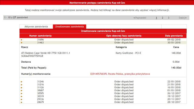 Komputer za 500 zł - Radeon HD 7750 zamówienie