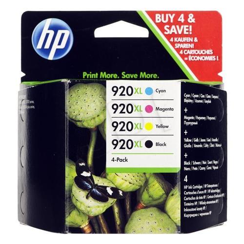 HP Tusz HP920XL=C2N92AE, Zestaw CMYBk, CD972AE+CD973AE+CD974AE+CD975AE