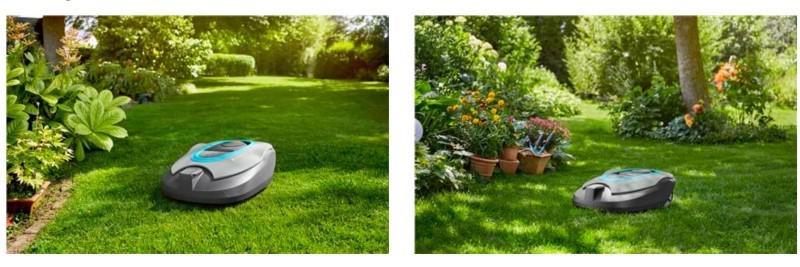 Gardena Smart 130 li sileno pielęgnuje cały ogród