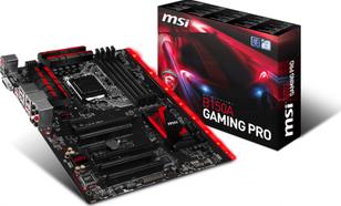 Płyta główna MSI B150A GAMING PRO, B150, DDR4, SATA3, USB3.1, ATX (B150A GAMING PRO)