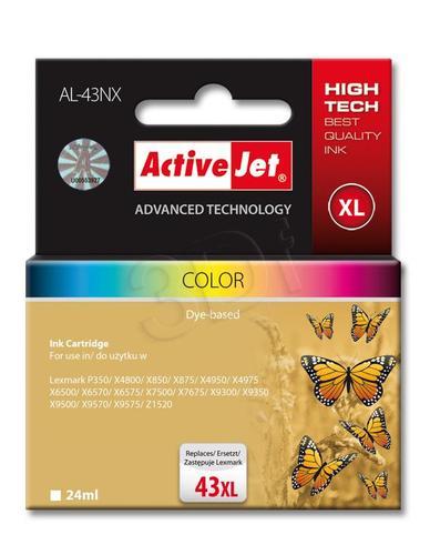 ActiveJet AL-43NX tusz trójkolorowy do drukarki Lexmark (zamiennik Lexmark 43XL 18YX143) Supreme