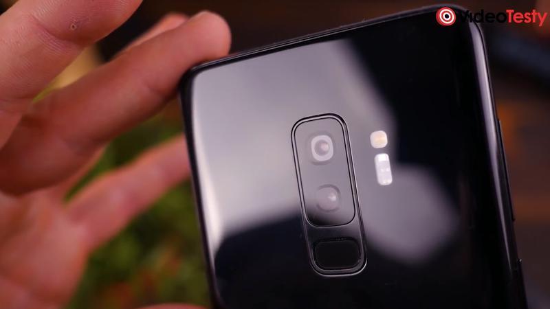 S9 ma podwójny aparat z tyłu