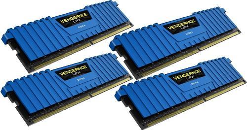 Corsair DDR4 Vengeance LPX 16GB /2666 (4*4GB) BLUE CL16-18-18-35
