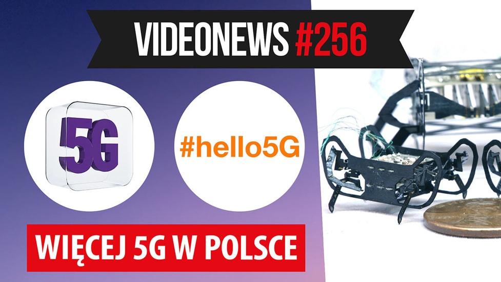 Więcej 5G w Polsce, mikrorobot z Harwardu, wady Android 11 - VideoNews #256
