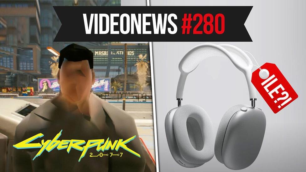 Cyberpunk 2077 bez szału, Airpods Max, Facebook jest za duży - VideoNews #280