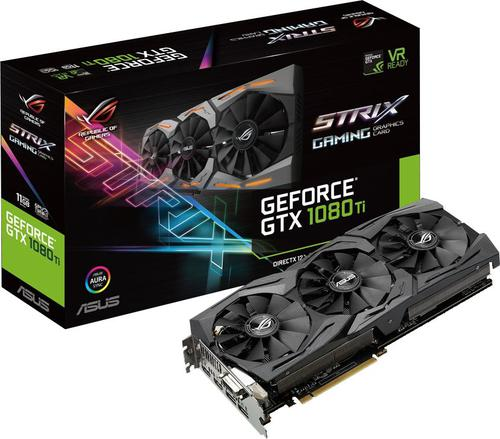 Asus GeForce GTX 1080 TI 11GB GDDR5X (352 BIT) DVI-D, 2x HDMI, 2x DP, BOX (ROG-STRIX-GTX1080TI-11G-GAMING)