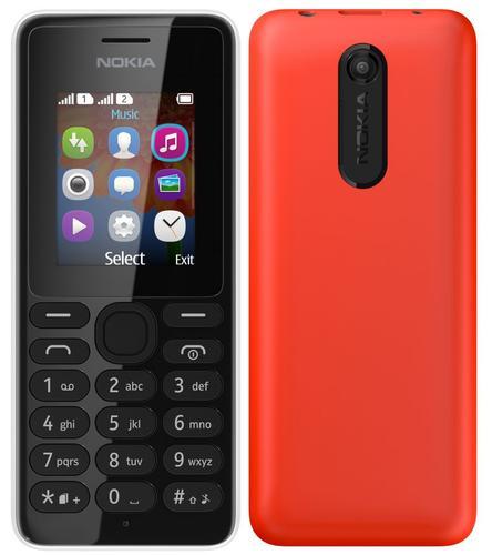 Nokia 108 Red Dual Sim