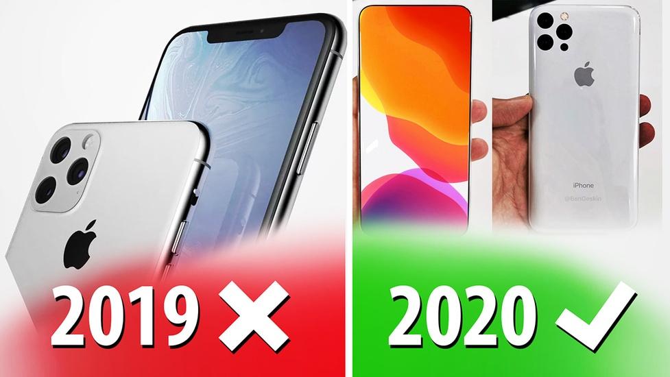 Nie kupuj iPhone'a 11! Poczekaj na model z 2020 - Podsumowanie plotek