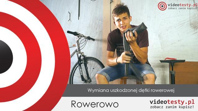 Rowerowo #2 -Wymiana uszkodzonej dętki rowerowej