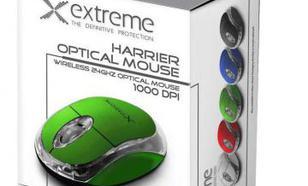 Esperanza MYSZ BEZPREWODOWA XM105G,3D,2.4GHz,ZIELONA