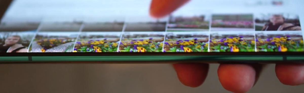 Krawędź ekranu Xiaomi Mi 10 jest zagięta w niewielkim stopniu