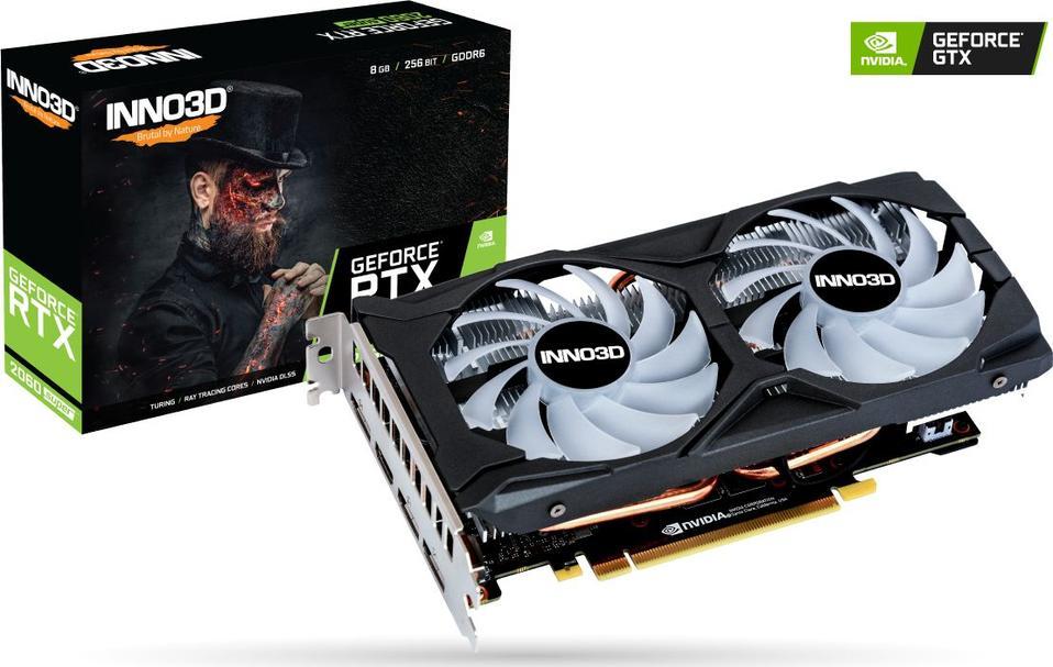 Inno3D GeForce RTX 2060 SUPER Twin X2 OC RGB 8GB GDDR6