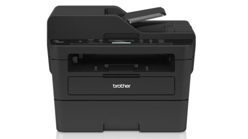 Brother DCP-L2552DN na białym tle