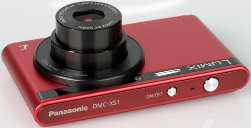 Panasonic DMC-XS1 red