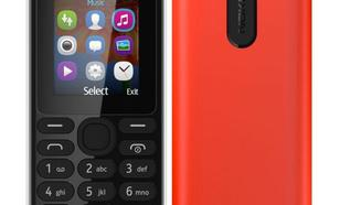 Nokia 108 RED SINGLE SIM