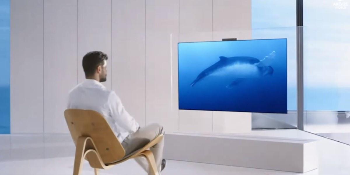 Pierwszy telewizor OLED Huaweia w salonie
