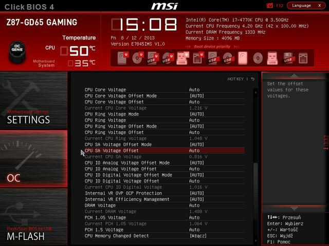 MSI Z87-GD65 bios fot 3