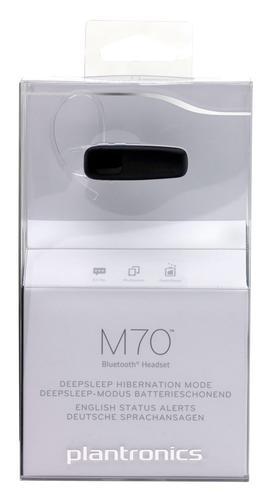 Plantronics Słuchawka BT M70 multipoint, A2DP, czarna