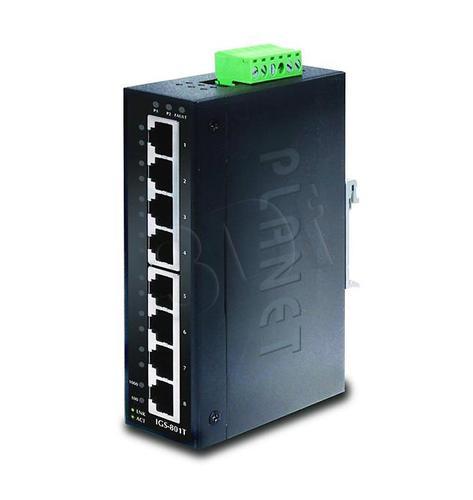 PLANET IGS-801 Przemysłowy Switch 8 port Gigabit