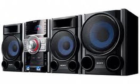 Sony MHC-GTZ3i - wieża o dużej mocy