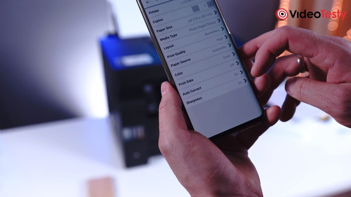 Epson L15150 aplikacja