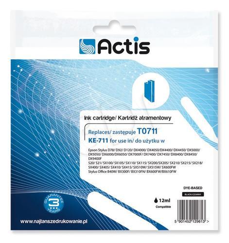 Actis KE-711 tusz czarny do drukarki Epson (zamiennik Epson T0711) Supreme