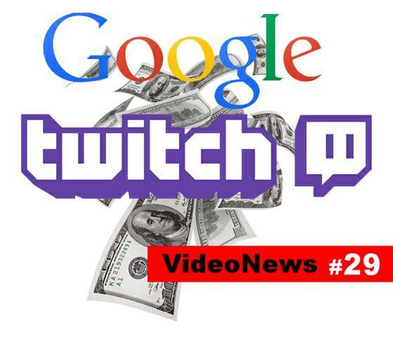 Google przejmuje Twitcha za 1mld $