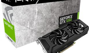PNY Technologies GeForce GTX 1060 6GB GDDR5 (196 Bit) DVI, HDMI, 3xDP, BOX (GF1060GTX6GEPB)