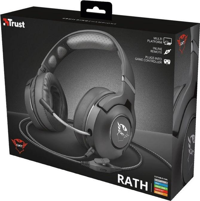 Trust Gaming GXT 420 Rath Multiplatform Gaming Headset - czarny