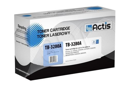 Actis TB-3280A toner Black do drukarki Brother (zamiennik Brother TN-3280) Supreme